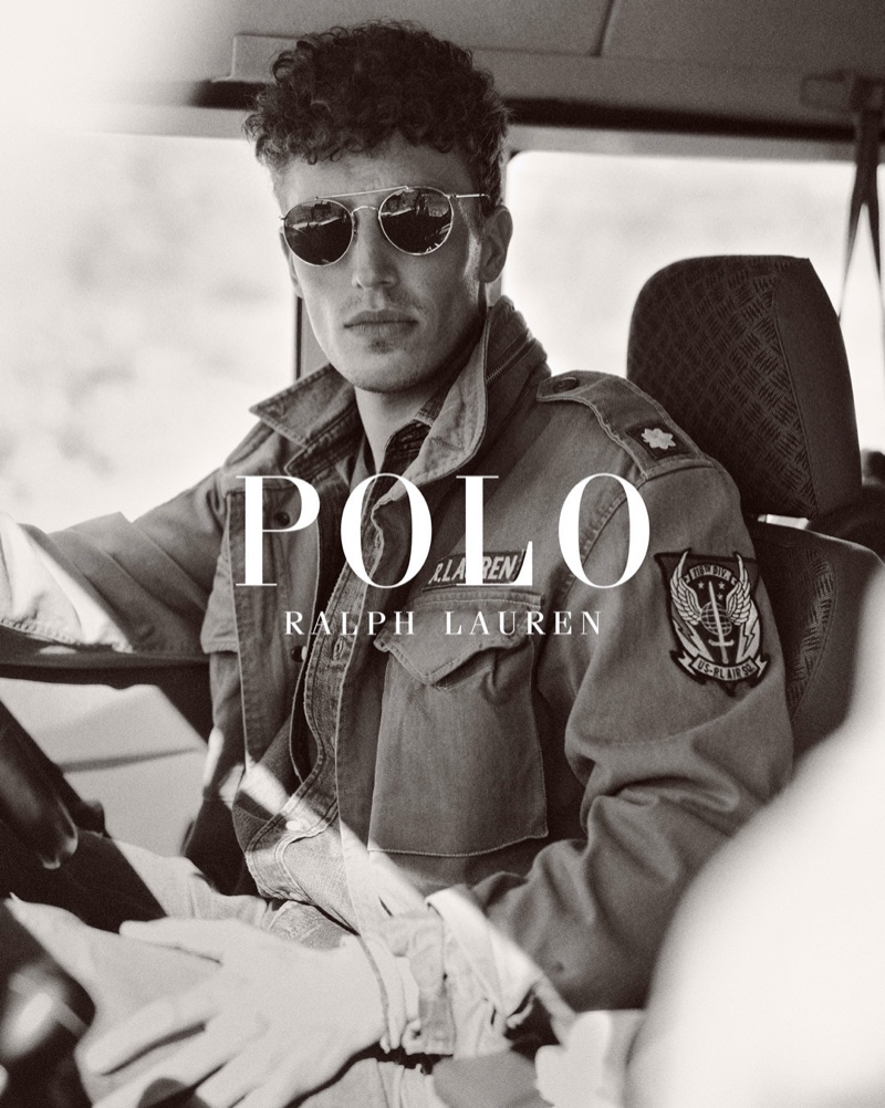 Victor Sion stars in POLO Ralph Lauren's Wild Coast collection campaign.