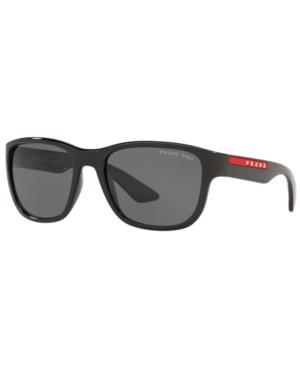 Prada Linea Rossa Active Polarized Sunglasses, Ps 01US 59