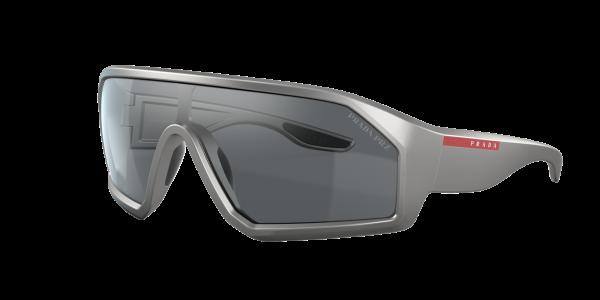 Prada Linea Rossa Man PS 03VS - Frame color: Grey, Lens color: Grey-Black, Size 13-6/135