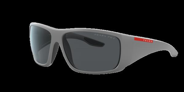 Prada Linea Rossa Man PS 04VS - Frame color: Grey, Lens color: Grey-Black, Size 66-14/130