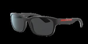 Prada Linea Rossa Man PS 05VS - Frame color: Black, Lens color: Grey-Black, Size 57-19/145