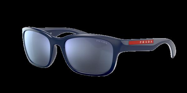 Prada Linea Rossa Man PS 05VS - Frame color: Blue, Lens color: Blue, Size 57-19/145