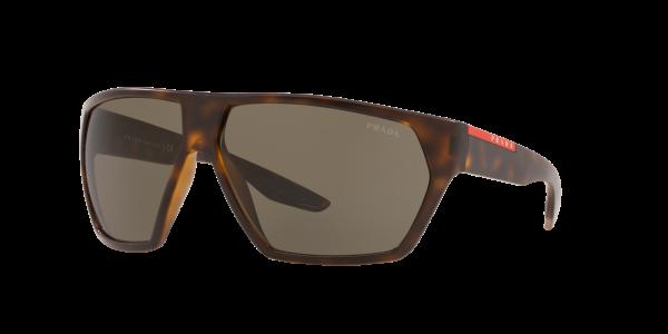 Prada Linea Rossa Man PS 08US - Frame color: Tortoise, Lens color: Brown Gradient, Size 67-12/130