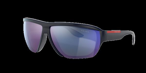 Prada Linea Rossa Man PS 09VS - Frame color: Blue, Lens color: Violet, Size 72-12/130