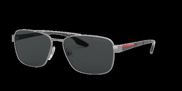 Prada Linea Rossa Man PS 51US - Frame color: Gunmetal, Lens color: Polarized Grey Gradient, Size 62-16/145