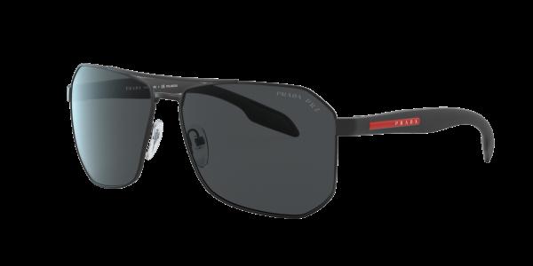 Prada Linea Rossa Man PS 51VS - Frame color: Black, Lens color: Grey-Black, Size 62-14/140