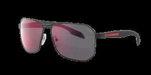 Prada Linea Rossa Man PS 51VS - Frame color: Black, Lens color: Red, Size 62-14/140