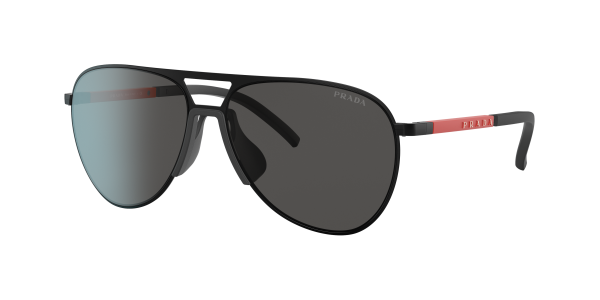Prada Linea Rossa Man PS 51XS - Frame color: Matte Black, Lens color: Dark Grey, Size 59-15/145