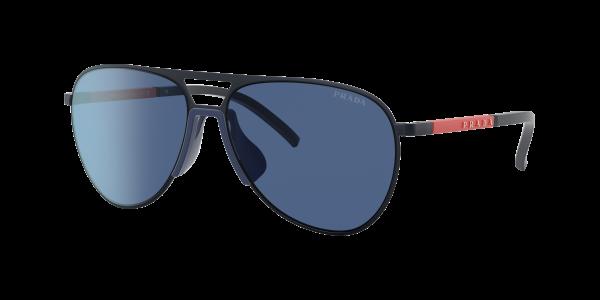 Prada Linea Rossa Man PS 51XS - Frame color: Matte Navy, Lens color: Blue Classic, Size 59-15/145