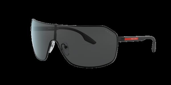 Prada Linea Rossa Man PS 53VS - Frame color: Matte Black, Lens color: Grey-Black, Size 37--/125