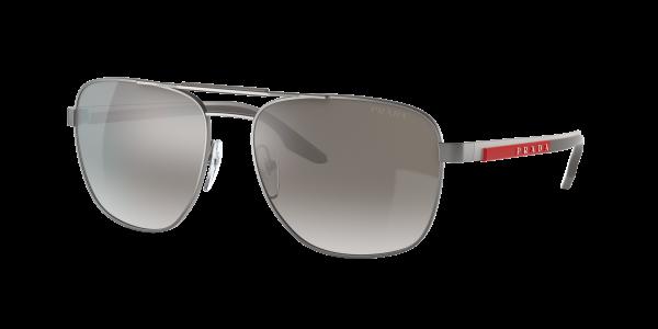 Prada Linea Rossa Man PS 53XS - Frame color: Matte Gunmetal, Lens color: Grey, Size 60-17/140