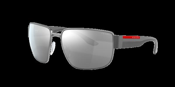 Prada Linea Rossa Man PS 56VS - Frame color: Gunmetal, Lens color: Grey-Black, Size 62-16/130
