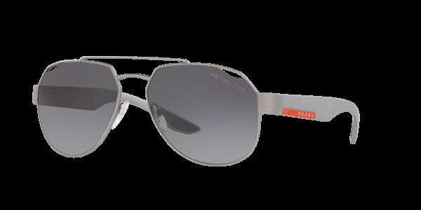 Prada Linea Rossa Man PS 57US - Frame color: Grey, Lens color: Grey-Black, Size 59-15/140