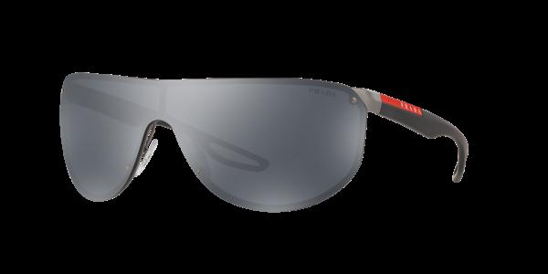 Prada Linea Rossa Man PS 61US - Frame color: Gunmetal, Lens color: Grey-Black, Size 40-00/130