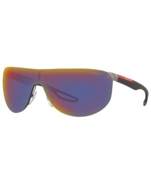 Prada Linea Rossa Men's Sunglasses, Ps 61US