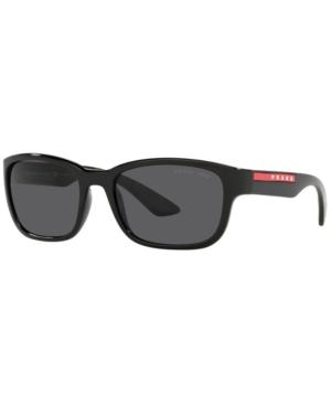 Prada Linea Rossa Polarized Sunglasses, Ps 05VS 57