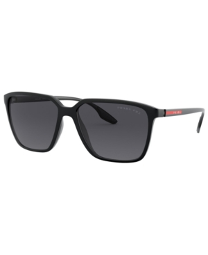 Prada Linea Rossa Polarized Sunglasses, Ps 06VS 58