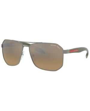 Prada Linea Rossa Polarized Sunglasses, Ps 51VS 62