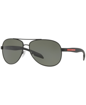Prada Linea Rossa Polarized Sunglasses, Ps 53PS