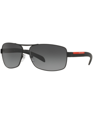 Prada Linea Rossa Polarized Sunglasses, Ps 54IS