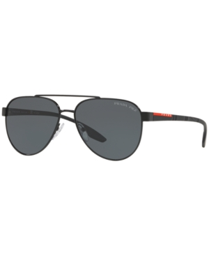 Prada Linea Rossa Polarized Sunglasses, Ps 54TS 58
