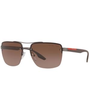 Prada Linea Rossa Polarized Sunglasses, Ps 60US 62 Lifestyle