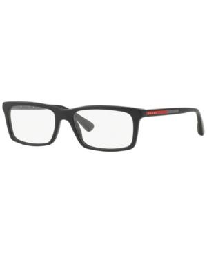 Prada Linea Rossa Ps 02CV Men's Rectangle Eyeglasses