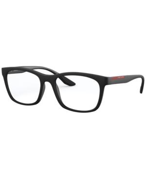 Prada Linea Rossa Ps 02NV Men's Square Eyeglasses