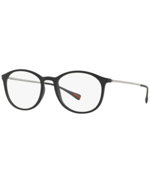 Prada Linea Rossa Ps 04HV Men's Rectangle Eyeglasses
