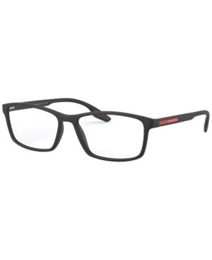 Prada Linea Rossa Ps 04MV Men's Rectangle Eyeglasses