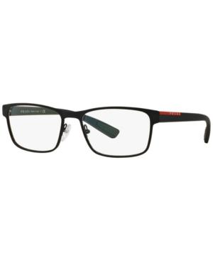 Prada Linea Rossa Ps 50GV Men's Rectangle Eyeglasses