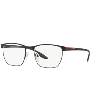 Prada Linea Rossa Ps 50LV Men's Irregular Eyeglasses