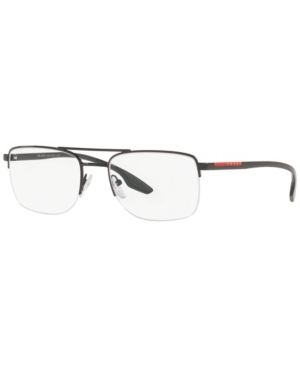 Prada Linea Rossa Ps 51MV Men's Rectangle Eyeglasses