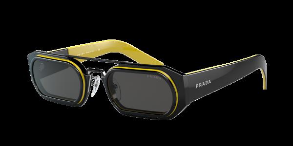 Prada Man PR 01WS - Frame color: Black, Lens color: Grey-Black, Size 53-24/150