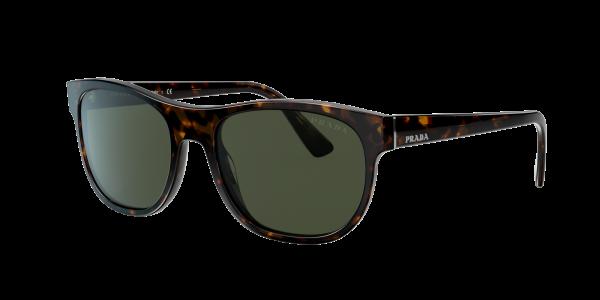 Prada Man PR 04XS - Frame color: Tortoise, Lens color: Green, Size 56-19/145
