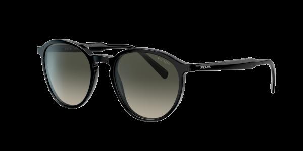 Prada Man PR 05XS Conceptual - Frame color: Black, Lens color: Green, Size 51-20/145
