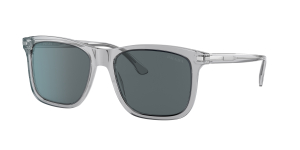 Prada Man PR 18WS - Frame color: Grey Crystal, Lens color: Blue Grey Classic, Size 56-18/150