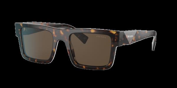 Prada Man PR 19WS - Frame color: Tortoise, Lens color: Dark Brown Classic, Size 52-21/145