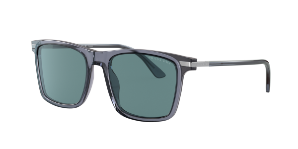 Prada Man PR 19XS - Frame color: Grey, Lens color: Green, Size 54-19/145