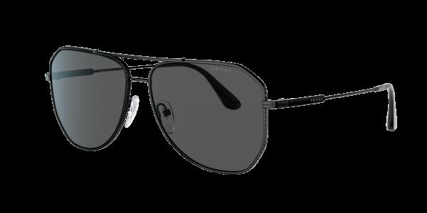 Prada Man PR 63XS - Frame color: Black, Lens color: Grey-Black, Size 61-14/150
