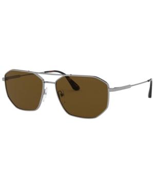 Prada Men's Polarized Sunglasses, Pr 64XS 60