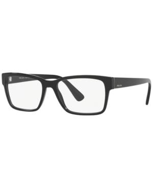 Prada Pr 15VV Men's Rectangle Eyeglasses