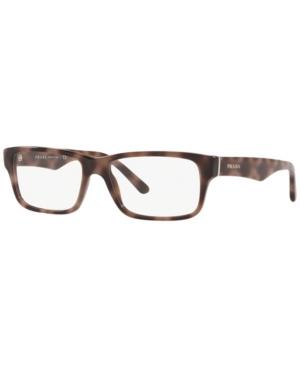 Prada Pr 16MV Men's Rectangle Eyeglasses
