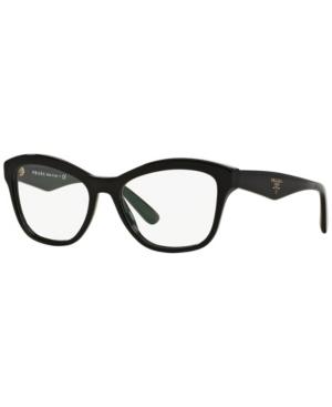 Prada Pr 29RV Unisex Cat Eye Eyeglasses