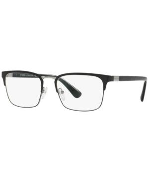Prada Pr 54TV Men's Rectangle Eyeglasses