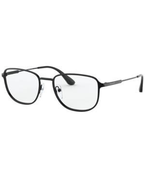 Prada Pr 58XV Men's Square Eyeglasses