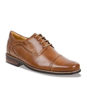 Sandro Moscoloni Men's Cap Toe 4 Eyelet Oxford Men's Shoes