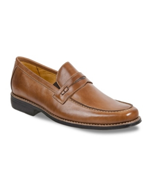 Sandro Moscoloni Men's Moc Toe Penny Strap Slip-On Men's Shoes