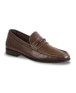 Sandro Moscoloni Men's Moc Toe Strap Slip-On Men's Shoes