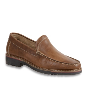 Sandro Moscoloni Men's Moc Toe Venetian Slip-On Men's Shoes